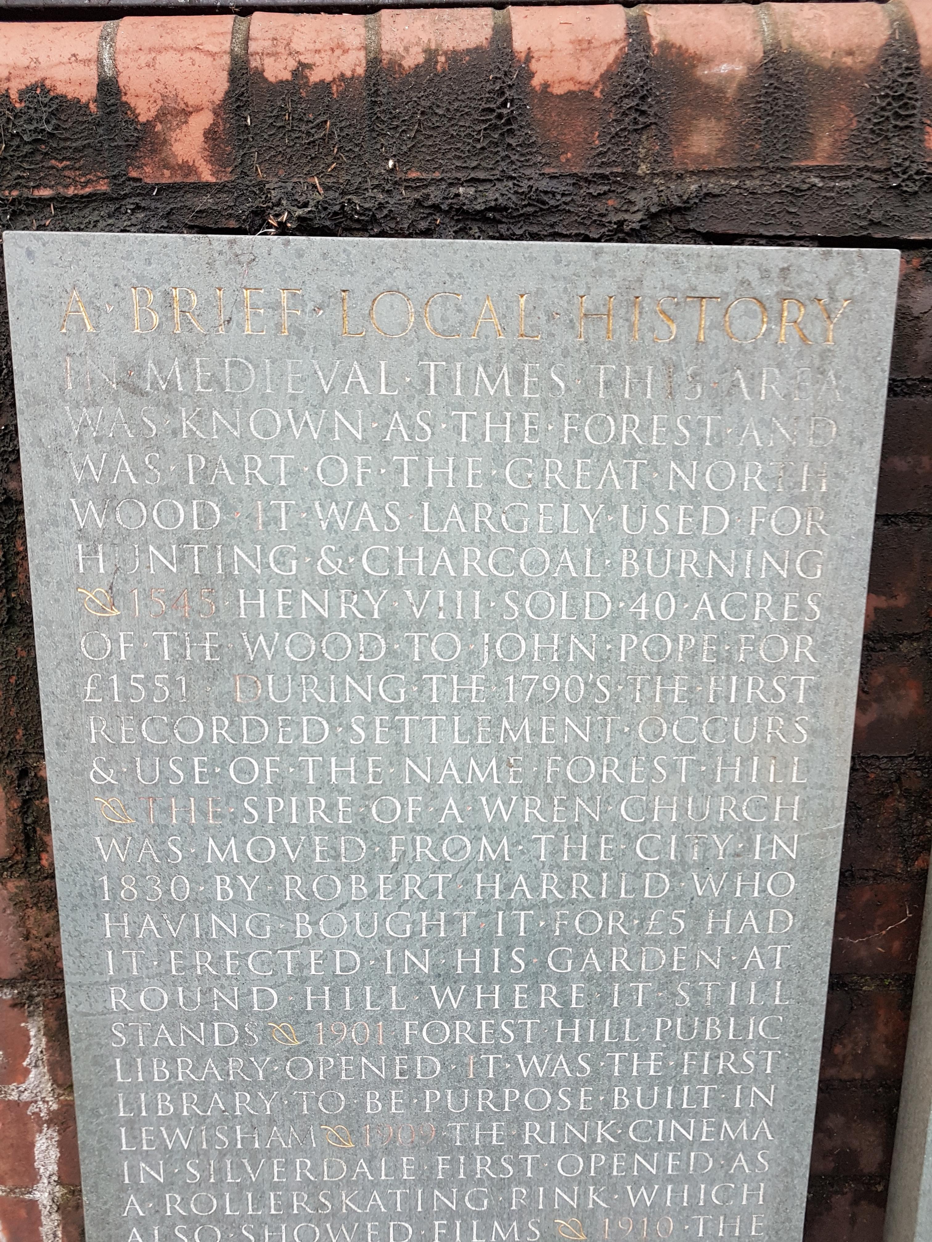 Brief Local History