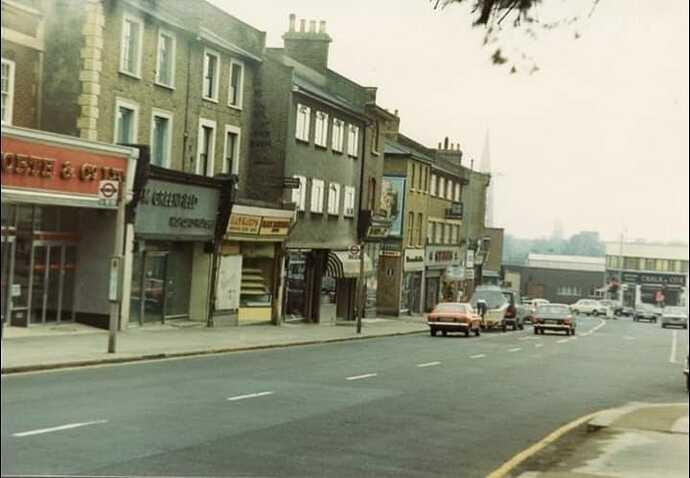 London Rd 1970s