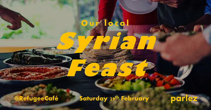 Syrian Dinner Leap Year