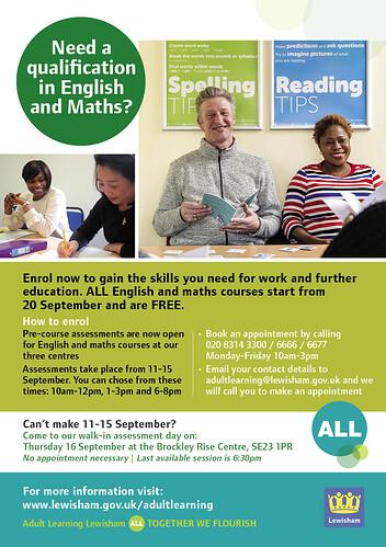 English&Maths A5 Flyer_Sep21_FINAL