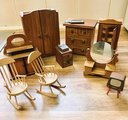 dolls 50s furniture