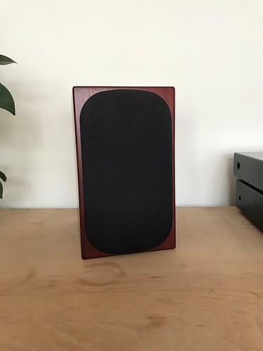 Speaker 1 front