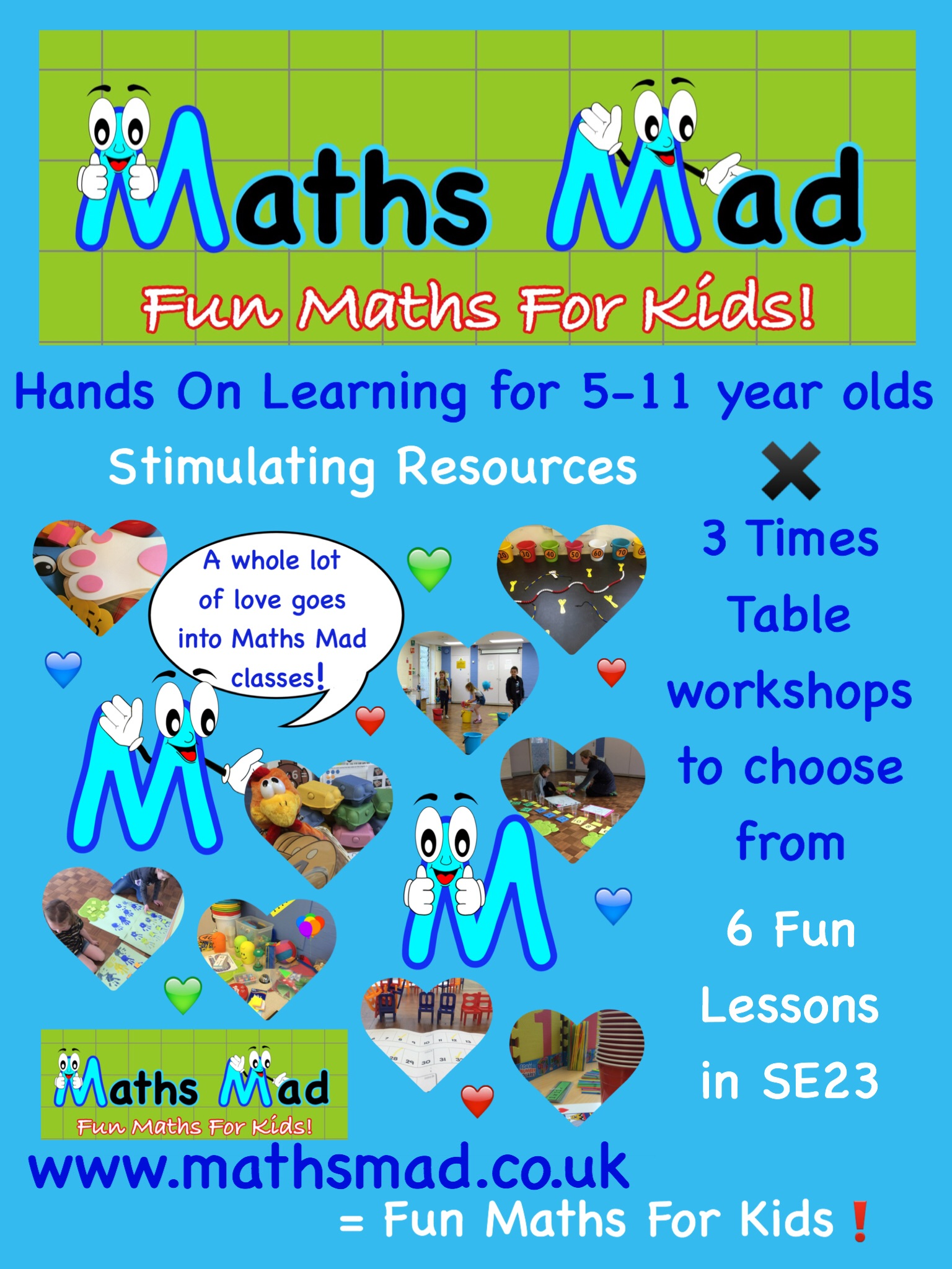 Maths Mad Times Table Classes 4 Kids! - Local Services - SE23 Forum ...