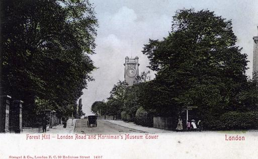 ARC/HMG/PR/003/003/006 - Forest Hill - London Road and Horniman's Museum Tower
