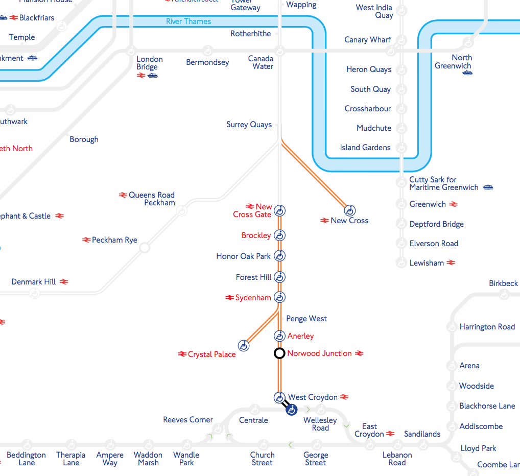 No London Overground or Southern services today Local Services